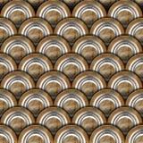 Grunge Metal Circles Background Stock Photo