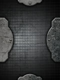 Grunge metal and concrete background Royalty Free Stock Photos