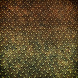 Grunge metal diamond plate background Royalty Free Stock Image