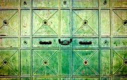 Grunge Metal Door Stock Image