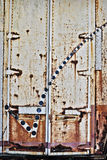 Grunge metal doors background Royalty Free Stock Image