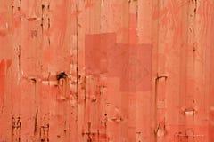 Grunge Metal Fence. Grunge Metal Fence . Orange Galvanized Corrugated Sheet stock photos