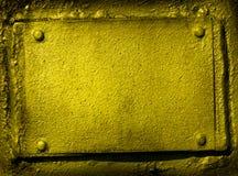 Grunge metal frame royalty free stock photo
