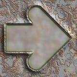 Grunge metal frame Royalty Free Stock Image