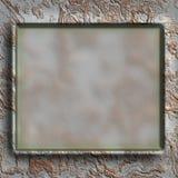 Grunge metal frame Stock Image