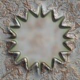 Grunge metal frame Royalty Free Stock Images