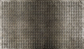 Grunge metal grate industrial background Royalty Free Stock Images