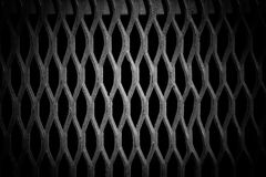 Grunge metal grid background Stock Photography