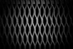 Grunge metal grid background. Dark grunge metal grid background Stock Photography