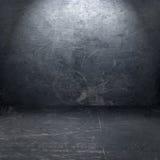 Grunge metal interior vector illustration