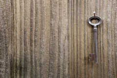 Grunge metal key Royalty Free Stock Photography