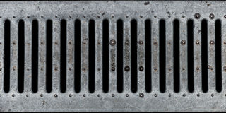 Grunge Metal lattice. Dirty old metal lattice, with scratches stock photo