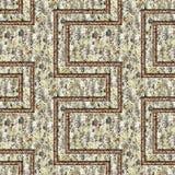 Grunge metal pattern Stock Image