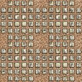 Grunge metal pattern Stock Photos