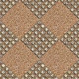 Grunge metal pattern Stock Photography