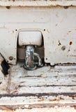 Grunge metal plate Stock Image