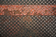 Grunge metal plate Royalty Free Stock Images