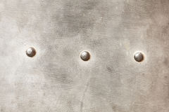 Grunge metal plate as background texture Royalty Free Stock Photo