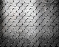 Grunge metal scales background Stock Images