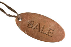 Grunge metal tag  Stock Photo