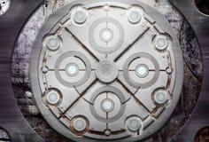 Grunge metal texture Stock Image