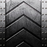 Grunge metal texture Stock Images