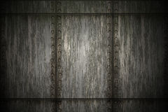 Grunge metal wall background Royalty Free Stock Photo