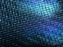 Grunge Metal Wire Mesh Photo. A blue wire screen texture pattern with grunge effect useful as a background or texture royalty free illustration