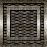 Grunge metallbakgrund Royaltyfri Foto