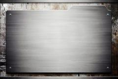 Grunge Metallbeschaffenheit Stockbilder