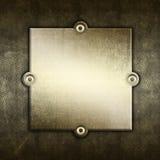 Grunge Metallhintergrund Stockbild