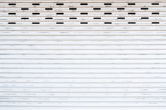 Grunge metallic roller shutter door Stock Photos