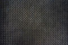 Grunge metalu diamentu talerza tekstury podłogowy tło obrazy stock
