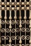 Grunge metalu ogrodzenie zdjęcia royalty free
