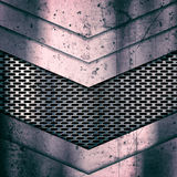 Grunge metalu tło Narysy i szurania ilustracji