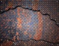 Grunge metalu tło Obraz Stock