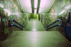 grunge metro fotografia stock