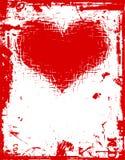 grunge miłości Obrazy Royalty Free