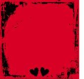grunge miłości Obraz Royalty Free