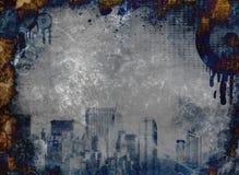 grunge miastowy Fotografia Stock