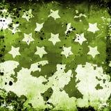 Grunge militar con las estrellas libre illustration