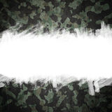 Grunge military camouflage background with space for text Royalty Free Stock Images