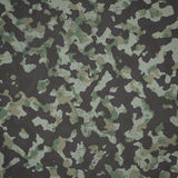 Grunge military camouflage woodland background Royalty Free Stock Photos