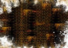 Grunge mischte Hintergrund Lizenzfreies Stockfoto