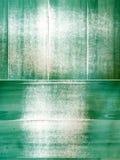 Grunge missfärgade gröna paneler Royaltyfria Foton