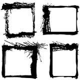 Grunge molda o vetor Imagens de Stock