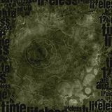 Grunge monocromático detalhado fundo textured Ilustração Stock