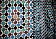 Grunge moroccan interior Stock Photos
