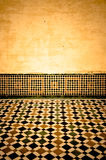 Grunge moroccan interior Royalty Free Stock Images