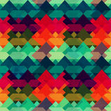 Grunge mosaic seamless pattern Royalty Free Stock Photography